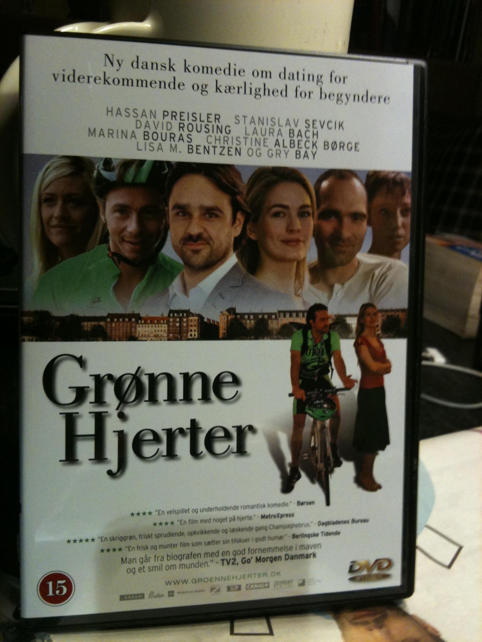 Filmplakat Grønne hjerter